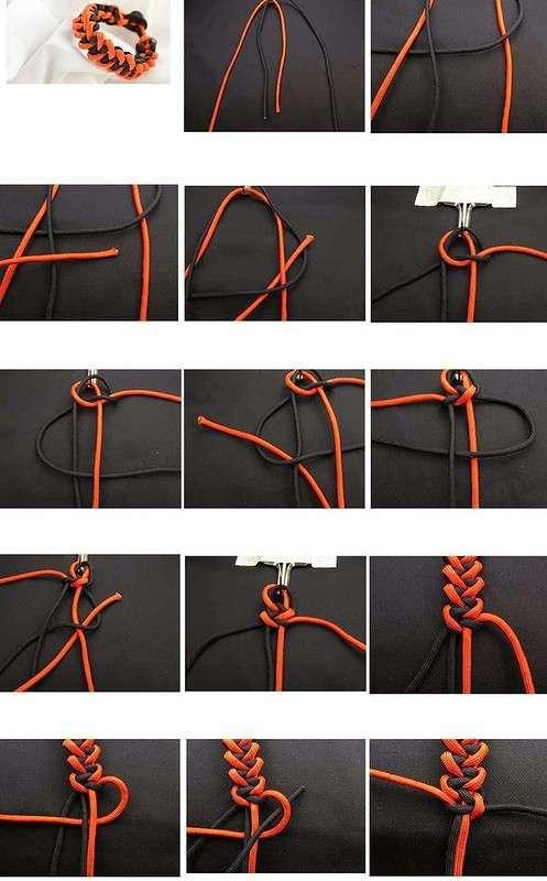 Браслеты из паракорда, которые сможет сплести каждый (схемы + описание)