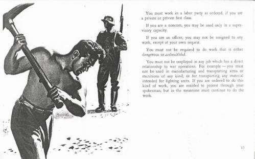 Инструкция для американских солдат, попавших в плен (инструкция времен второй мировой)