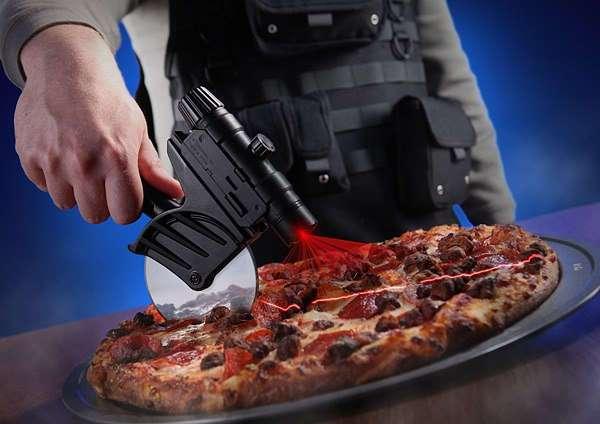 Нож для пиццы с ЛЦУ и планкой Пикатинни