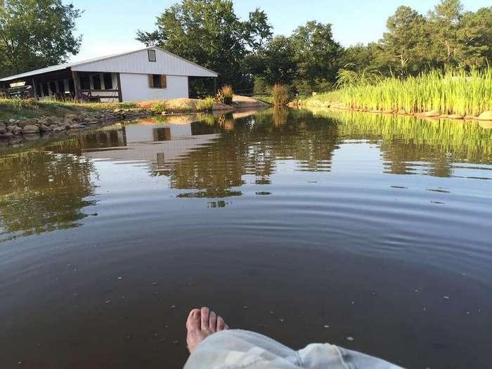 Как я сделал озеро своими руками