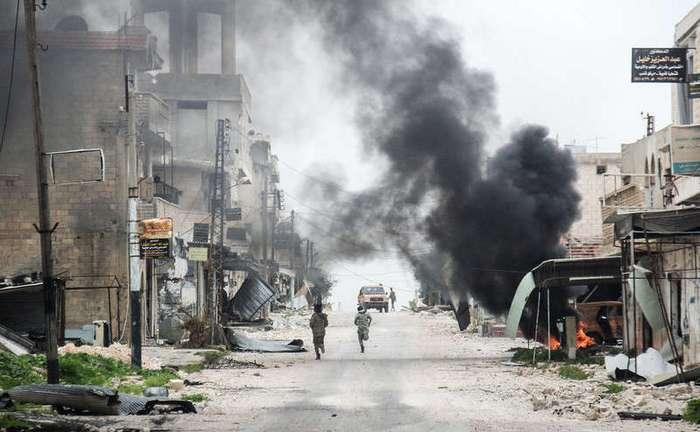Фотографии, сделанные в Сирии на прошлой неделе