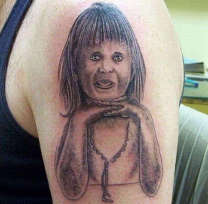 15 работ, после просмотра которых, вы передумаете делать татуировку