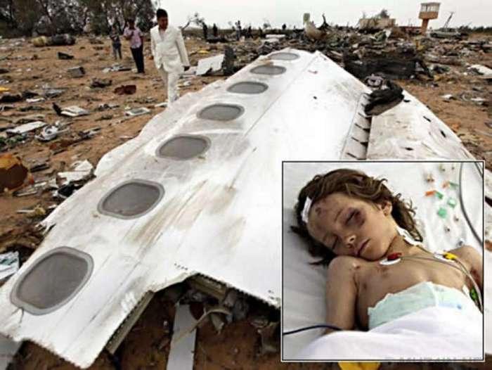 Чудесное спасение: 8 удивительных историй единственных выживших после авиакатастроф
