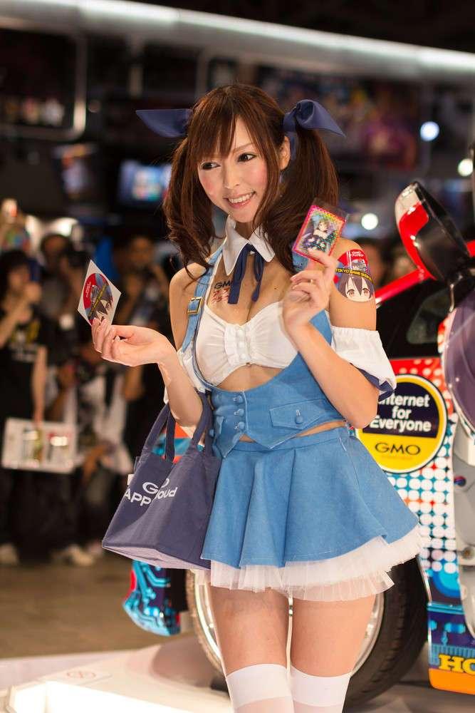 Девушки с Tokyo Game Show