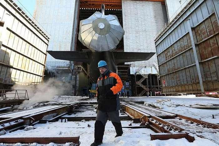 У России появилась самая мощная в истории подводная лодка