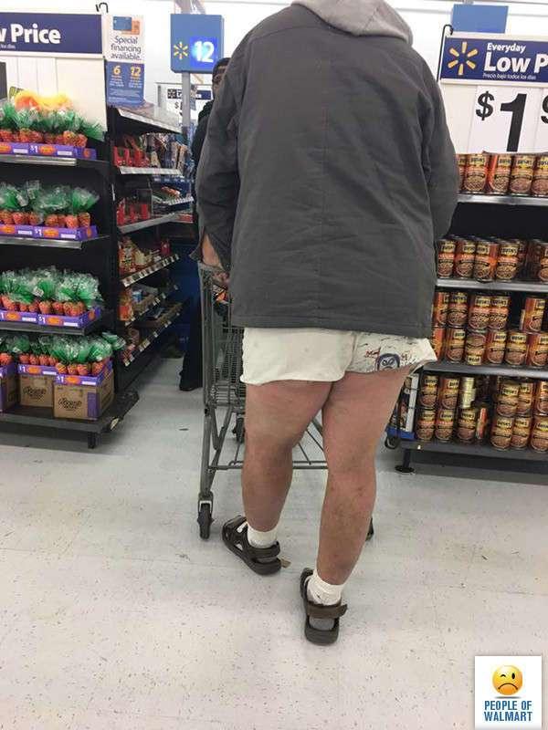 Экстравагантные покупатели Walmart