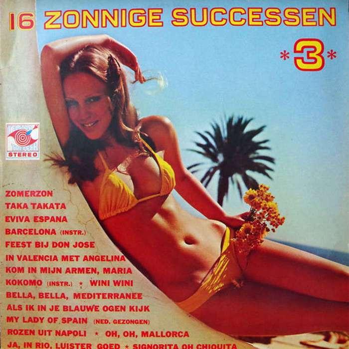 Соблазнительные бикини с обложек пластинок 60-80-х годов