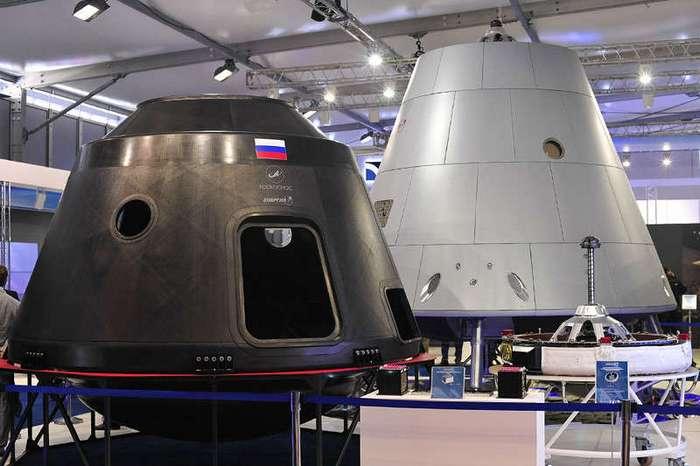 Российским космическим кораблем будет управлять робот