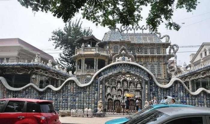 Фарфоровый дворец в Тяньцзине. Китай
