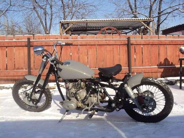 Примеры просто шикарной переделки советских мотоциклов Урал и Днепр
