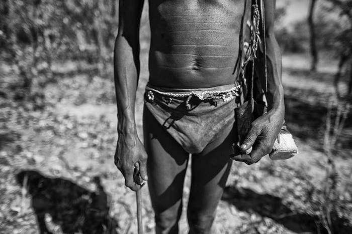 Бушмены Намибии на выразительных снимках Goran Jovic.