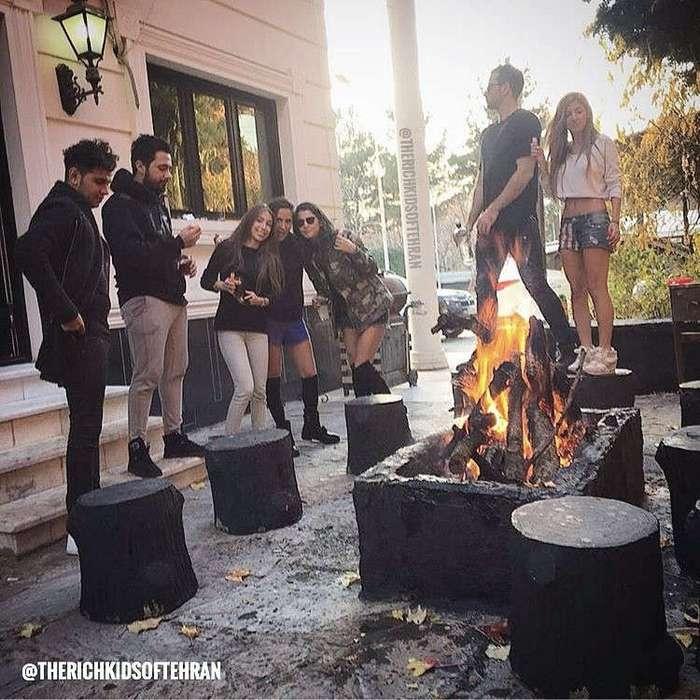 Золотая молодежь Ирана