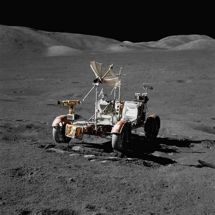 Зачем американцам было тащить на Луну автомобиль