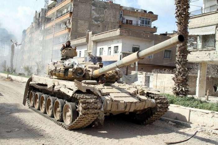 Боевое крещение танки Т-72 получили в 1982 году в Ливане.