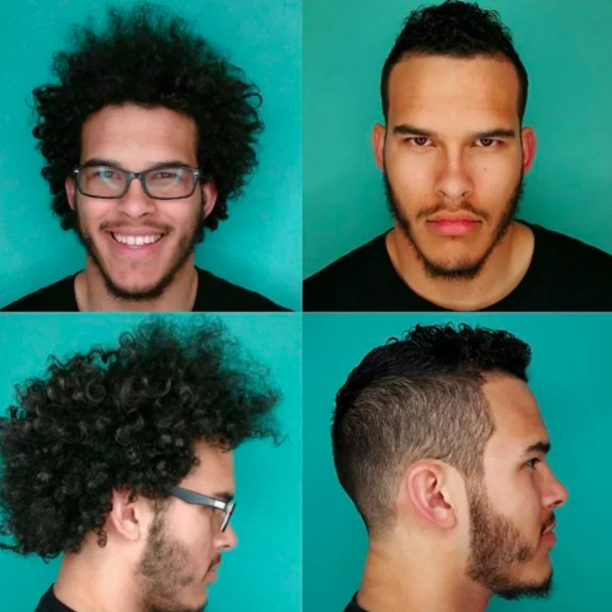 Парикмахер показал, как меняет мужчину хорошая стрижка