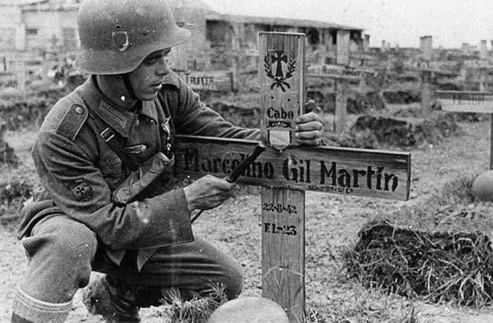 Голубая дивизия Азуль: испанцы на стороне Гитлера