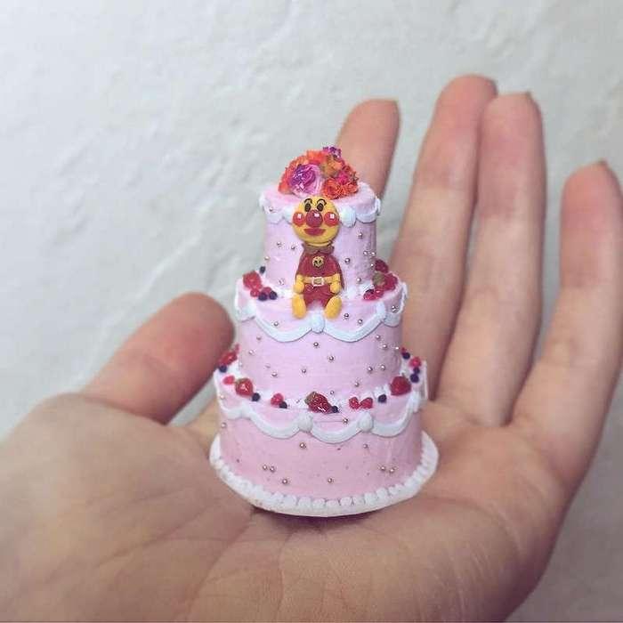 Взгляните на эти миниатюрные торты от Рэйчел Дайк — они просто очаровательны