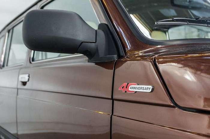 Юбилейная Lada 4x4 с кожаным салоном