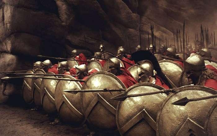 Вот потому спартанцы и не сдавались