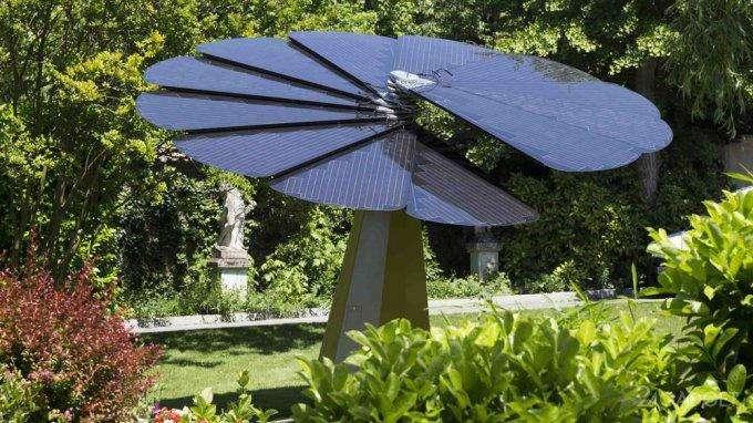 Smartflower — солнечные панели для городов и домохозяйств