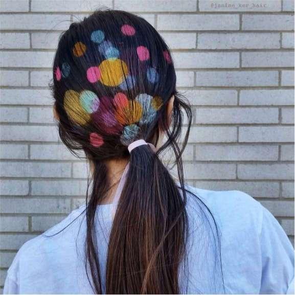 Граффити на волосах: модная новинка просто сводит с ума