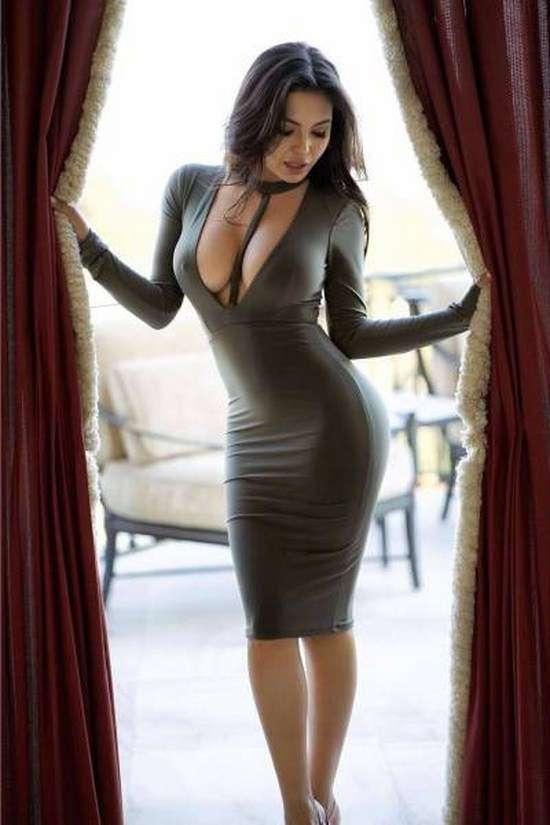 Платья, которые не скрывают, а подчеркивают