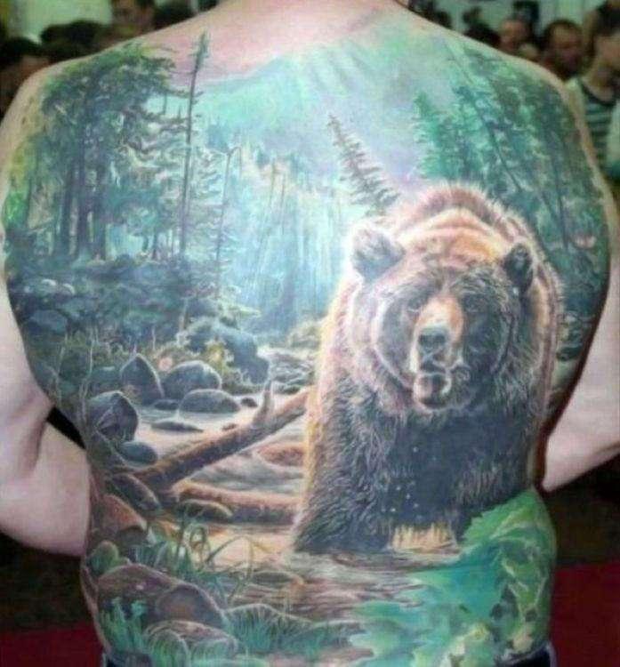 Суровые русские татуировки