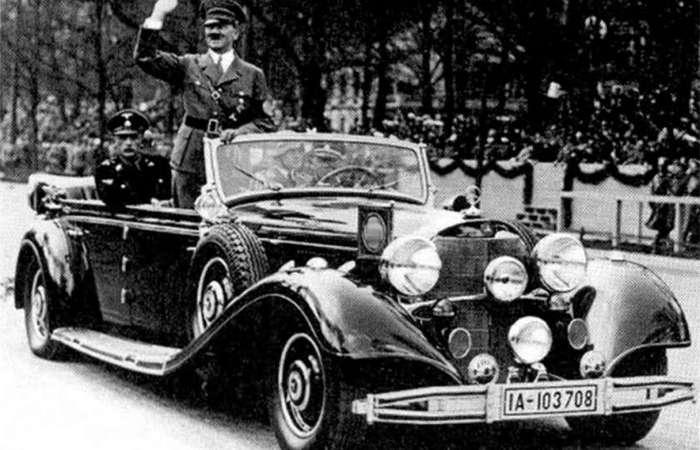 Зловещий -Мерседес-: куда исчез лимузин Гитлера, доставшийся Сталину?