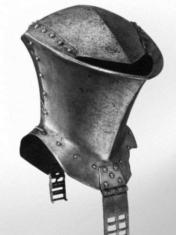 Боевые шлемы эпохи рыцарских турниров
