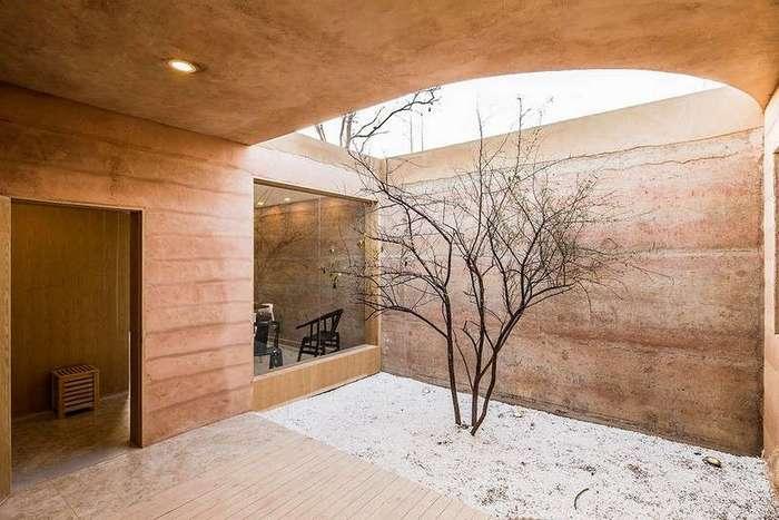 Реконструкция пещерного дома в Китае