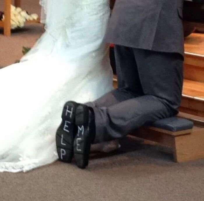 Треш на свадьбах