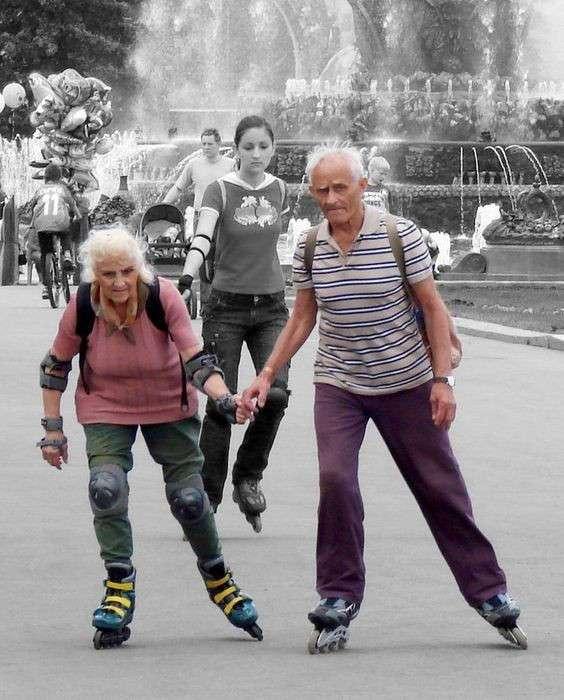 Безумные выходки пенсионеров! Представляете, а КАК мы будем отжигать в их возрасте