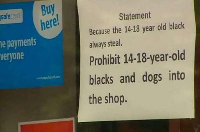 -Они всегда воруют-: австралийский предприниматель запретил темнокожим посещать свой магазин