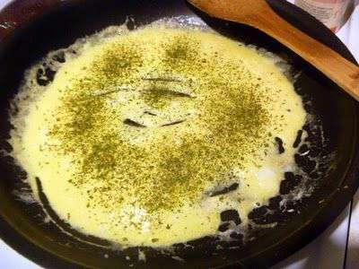 Кесадилья с сыром и яйцами