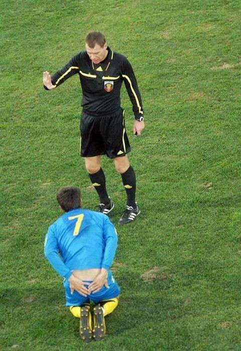 Смешные футбольные фотографии