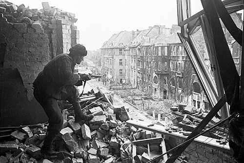 Берлинская наступательная операция (16 апреля - 8 мая 1945 года)