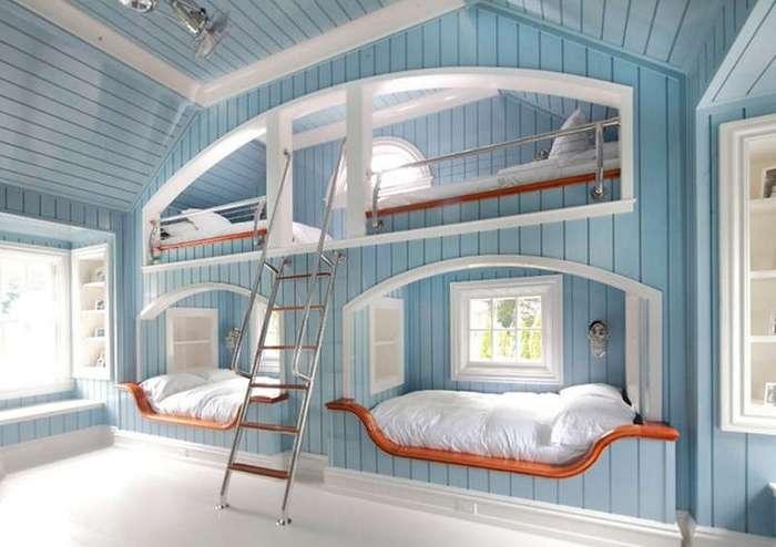 20 шикарных идей как двухъярусная кровать может сэкономить место в квартире