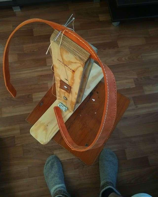 Как сделать кожаный портфель своими руками