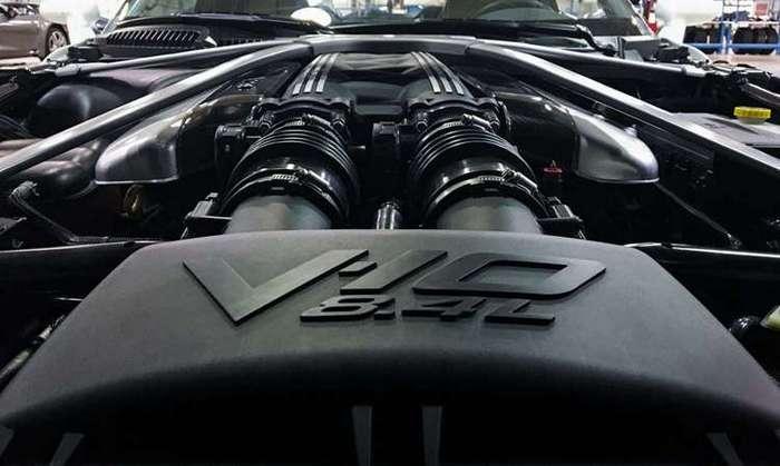 Суперкар VLF Force 1 V10 позаимствовал атмосферный двигатель у Dodge Viper