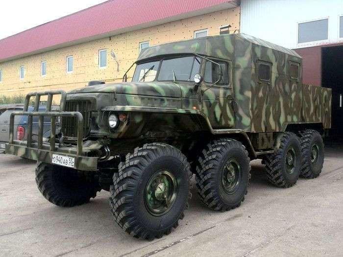 -Урал-Иртыш- - спартанский супервездеход