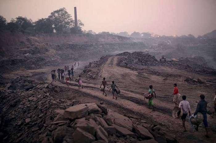 Город в огне: добыча угля в Индии