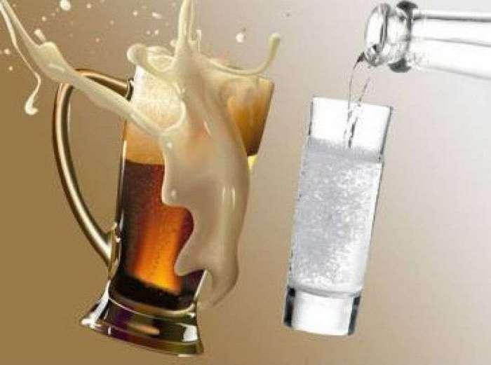 Пиво и водка: какой напиток вредней для организма?