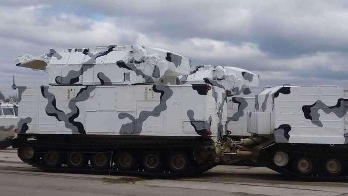 Появились фотографии российских арктических зенитных систем
