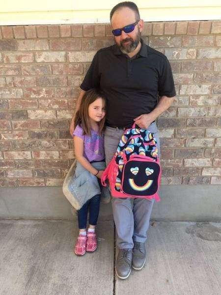 Отец поддержал дочь