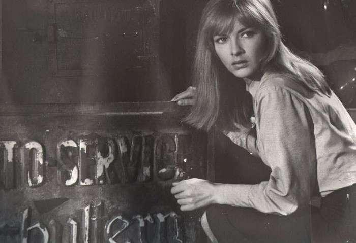 Барбара Брыльска в молодости