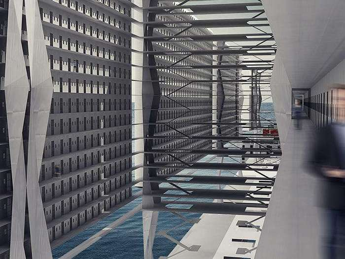 Французские архитекторы придумали проект тюрьмы-корабля
