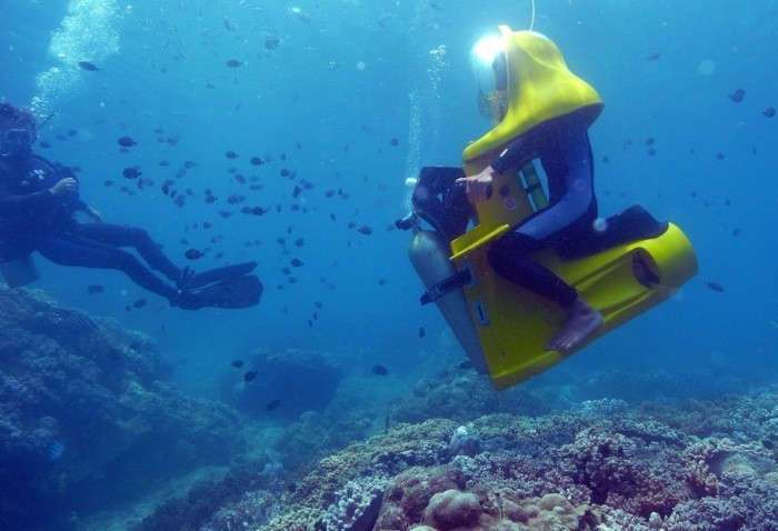 Подводные скутеры своими руками 60