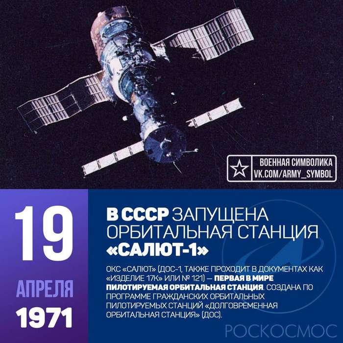 Долговременная орбитальная станция -Салют-1-