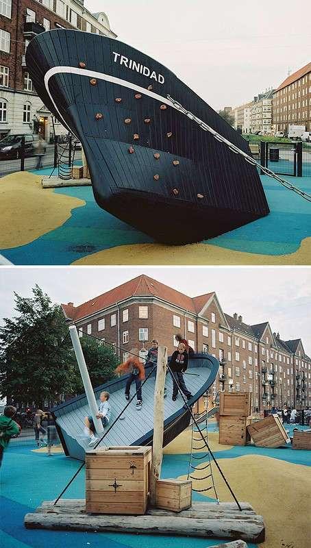 Эта датская компания создает лучшие игровые площадки в мире