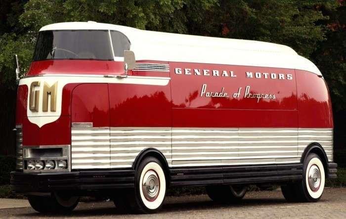 GM Futurliner – футуристический автобус из прошлого, который продали за 4 миллиона долларов